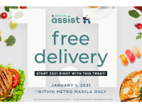Start the year right with Araneta City's New Year free delivery treat